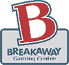 The Break Away Gaming Centre Logo